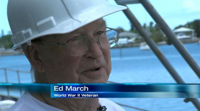 Veteran revisits the USS Mohawk
