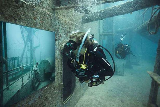 Photo gallery will be displayed on Mohawk reef in Gulf of Mexico
